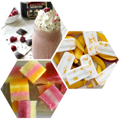 recipes for adult frozen treats