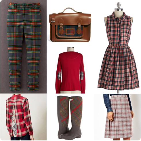 Tartan Trends on Flee Fly Flown