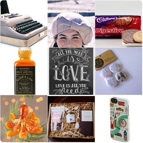 Love Actually inspired Christmas Gift Guide
