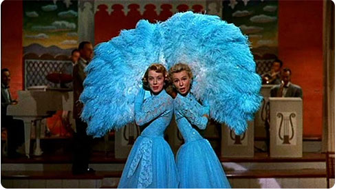 White Christmas Movie Sisters