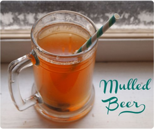 Mulled Beer Recipe from FleeFlyFlown.com